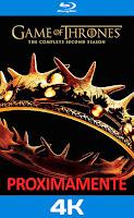 Game of thrones temporada 2 4k