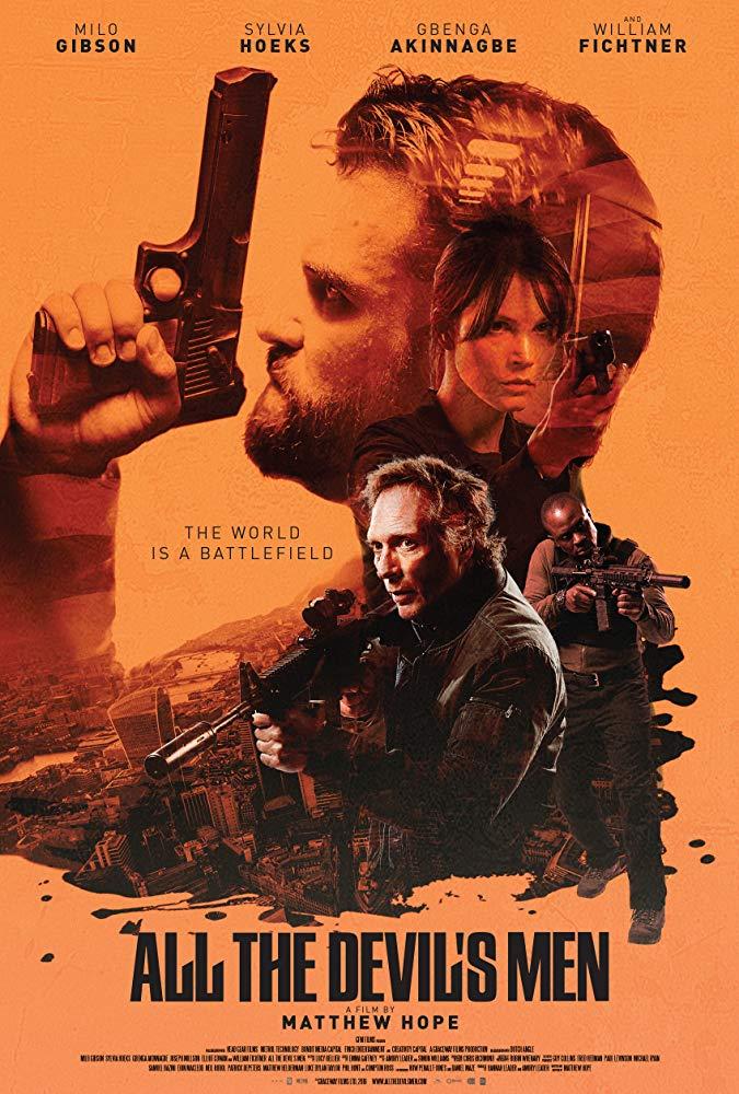 El Escuadrón del Diablo 2018 HD 1080p Español Latino poster box cover
