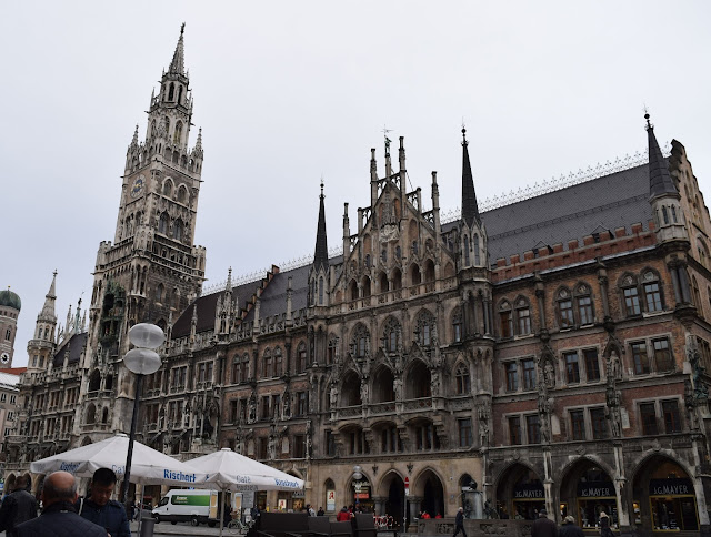 new town hall, Neue Rathaus, munich