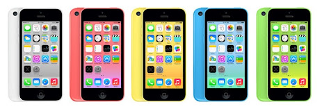 warna iPhone 5c