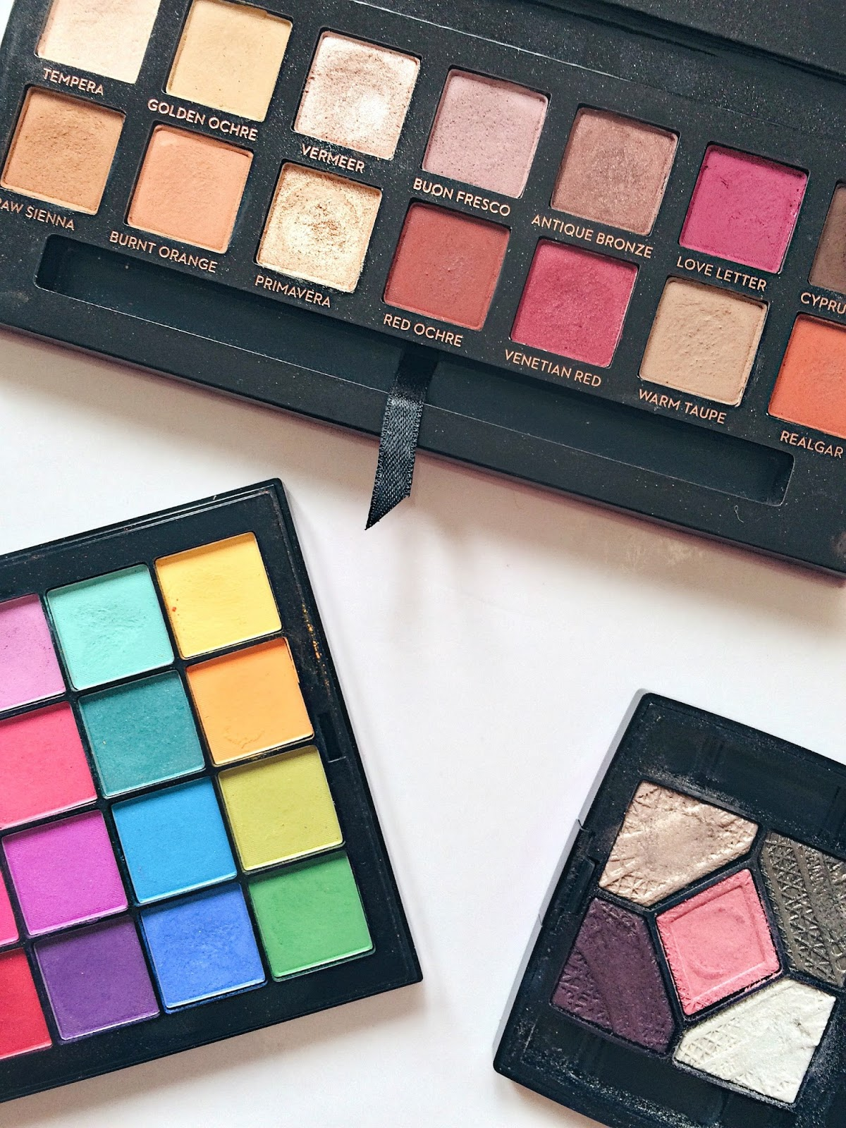 colourful eyeshadow modern renaissance subculture nyx ultimate brights dior palette jaclyn hill