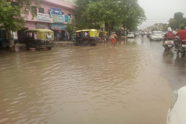Water logging In Kurukshetra After Rain