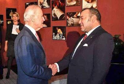 انشطة ملكية :الملك محمد السادس نصره الله يواسي الرئيس الأمريكي