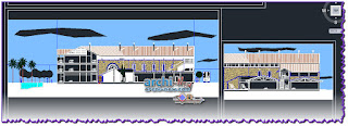 download-autocad-dwg-file-elevations-hotel-Seville