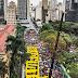 MILHARES DANÇAM E CANTAM NA CHUVA POR LULA LIVRE EM SÃO PAULO