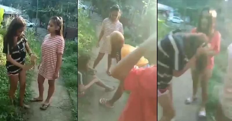 Binugbog ng mga babaeng ito ang isang babaeng may sakit sa pag-iisip at bagong panganak