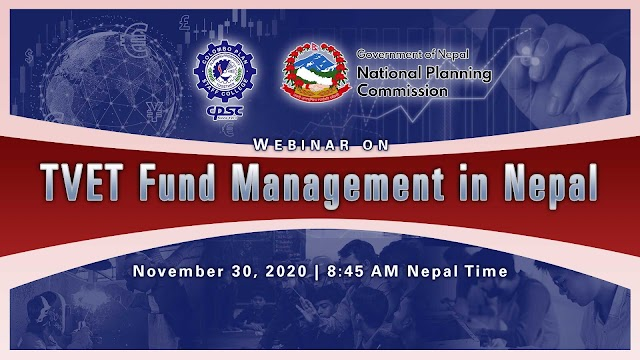 CPSC and Government of Nepal Co-Organizes a Webinar on TVET Fund Management