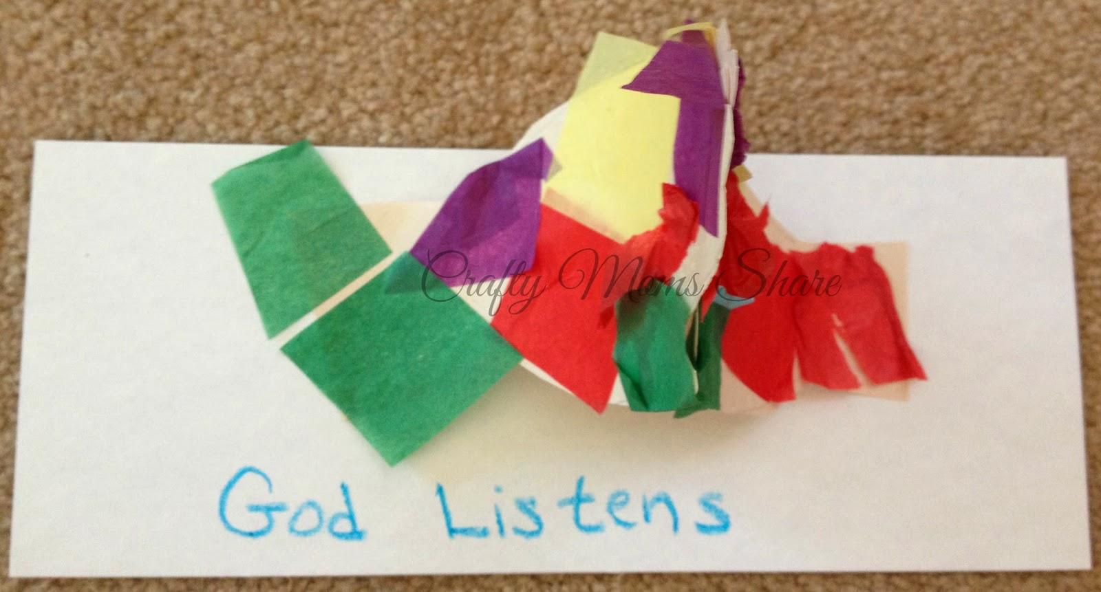 Praying Hands Craft For Kids
