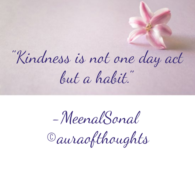 Kindness Quote - MeenalSonal