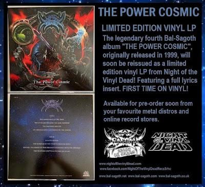 bal sagoth, power cosmic, vinyl