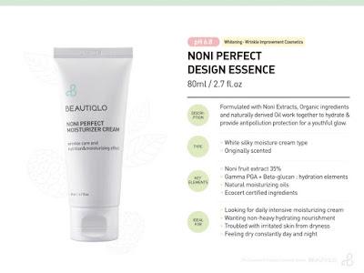 Beautiqlo Noni Perfect Moisturizer Cream