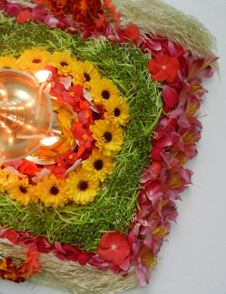 Sizzling Indian Recipes.....: Onam Pookalam / Floral ...