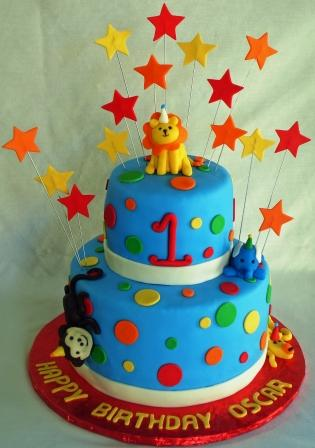 Birthday Cakes How To Makes A Wonderful First Birthday Cake For Boys