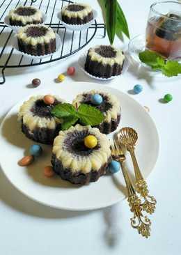 Resep dan Cara Membuat Kue Putu Ayu Coklat Keju