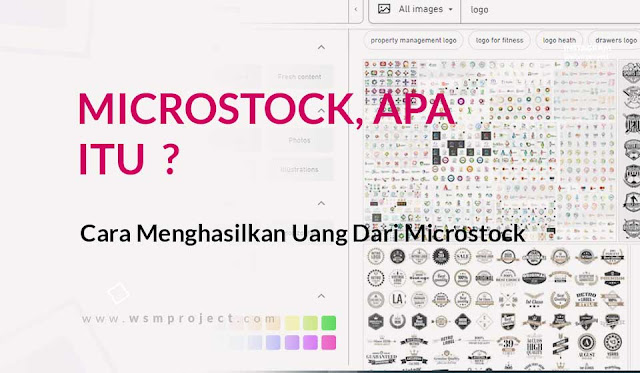 pengertian microstock