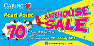 CARiNG Pharmacy Warehouse Sale 2017
