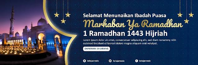Download Contoh Banner Ramadhan Ilustrator Gratis