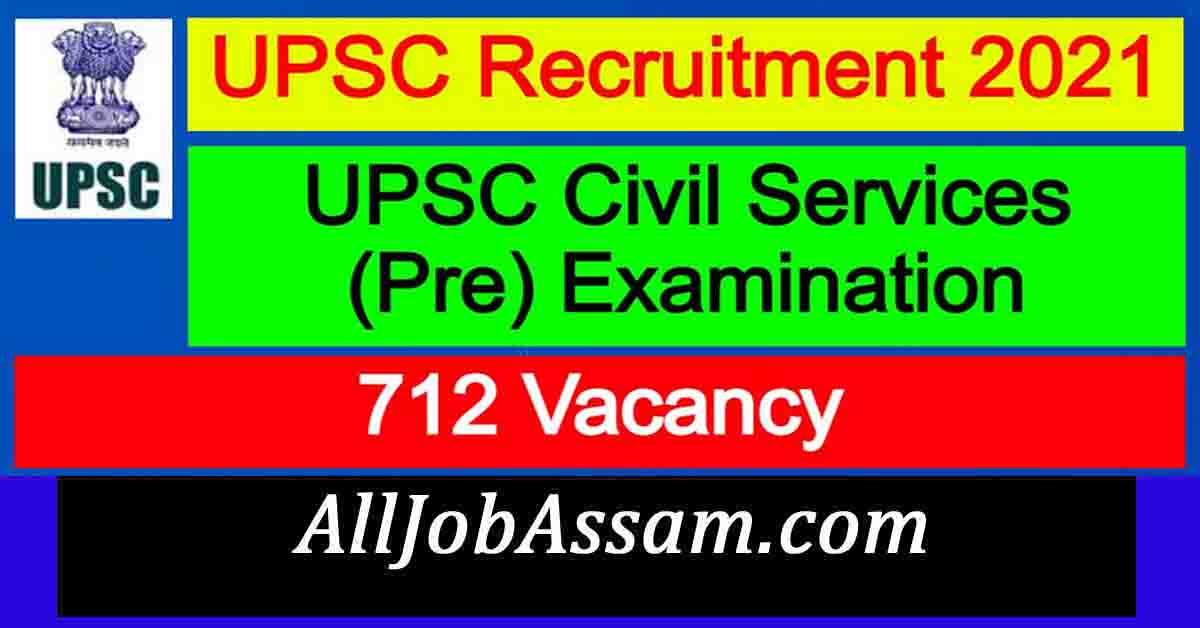 UPSC Civil Services (Pre) Examination 2021