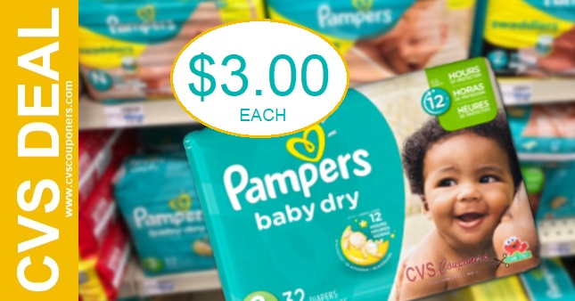 Pampers CVS Coupon Deal 1-10-1-16