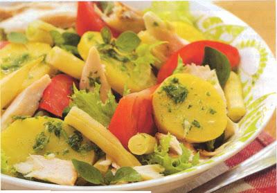 Reţetă culinară: salată cu peşte
