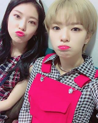 Foto Jeongyeon dengan kakaknya Gong Seung Yeon