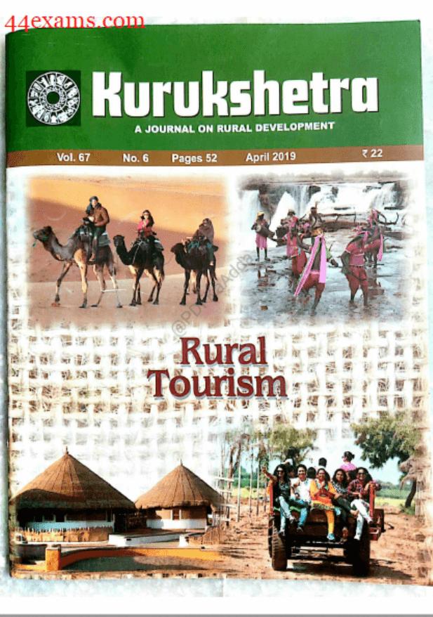 Kurukshetra-Current-Affairs-(April-2019)-For-UPSC-Exam-PDF-Book