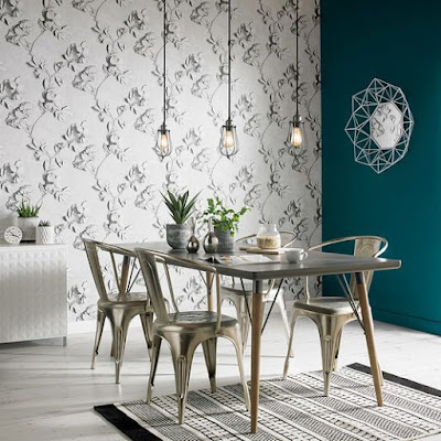 Tendencias decorativas 2019 con papel pintado