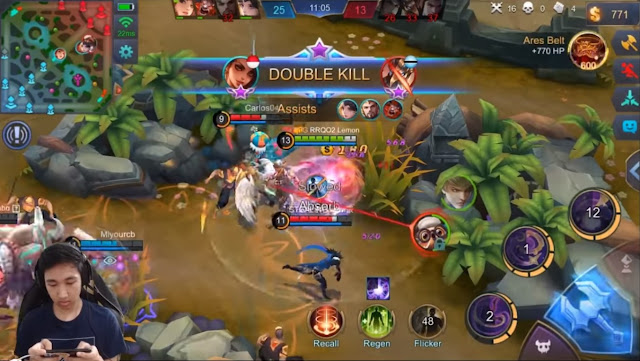 Esmeralda Double Kill