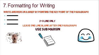 How to write in exam paper to get good marks