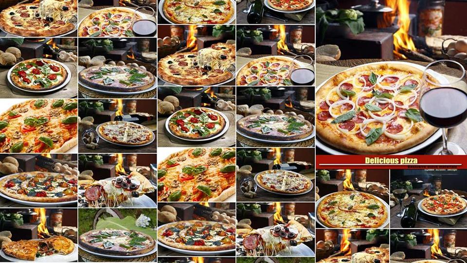 تحميل مجموعة من صور البيتزا عالية الجودة للتصميم