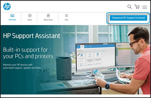 hp support assistant can't find printer (download) - Printer Toll