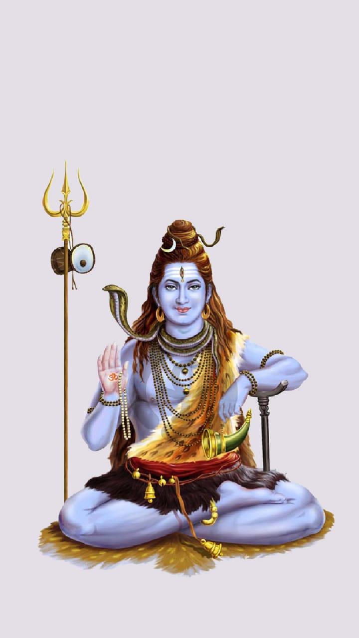 Lord Shiva bam bam bhole Mobile Wallpaper