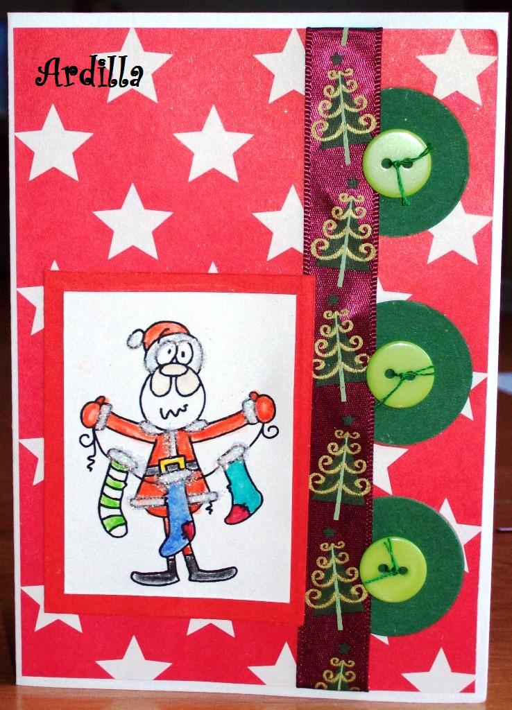 Christmas In July Humor.Ardilla S Papers Christmas In July Humor Card