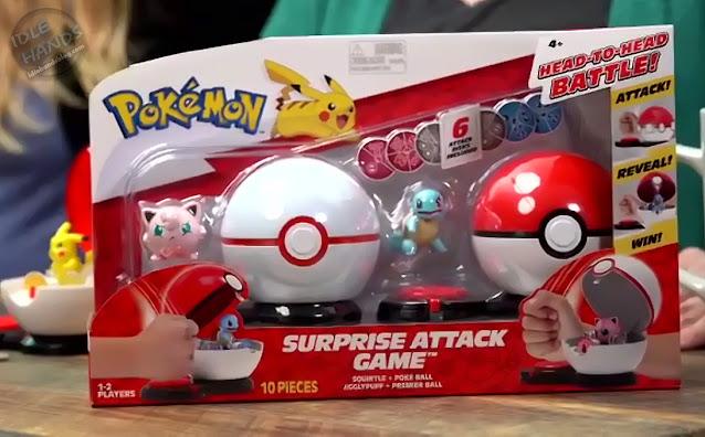 Jazwares Pokemon Surprise Attack Game 1