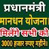 PM Kisan Mandhan yojana: किसानों को हर माह मिलेंगे 3000 रुपए, ऐसे करें ऑनलाइन घर बैठे आवेदन