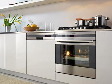 Il blocco cottura; il forno ed il piano cottura