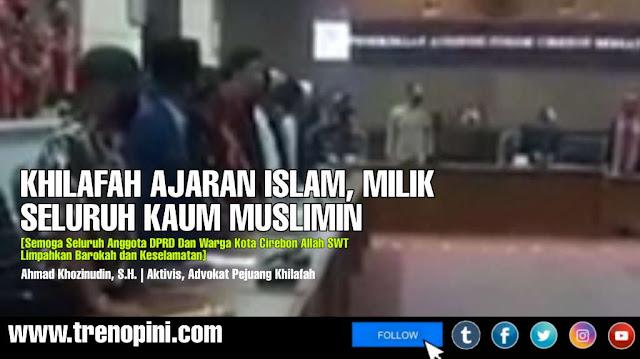 KHILAFAH AJARAN ISLAM, MILIK SELURUH KAUM MUSLIMIN