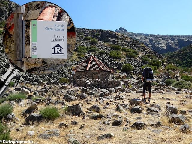 Refugio no guardado en la ruta a las Cinco Lagunas de la Sierra de Gredos