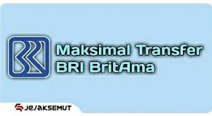 Limit Transfer BRI BritAma di ATM, Internet/Mobile Banking