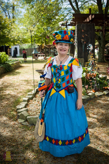 how to make a harlequin jester costume