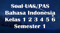 soal uas bahasa indonesia kelas 1 2 3 4 5 6