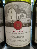Hidden Bench Chardonnay 2013 - VQA Beamsville Bench, Niagara Peninsula, Ontario, Canada (90 pts)