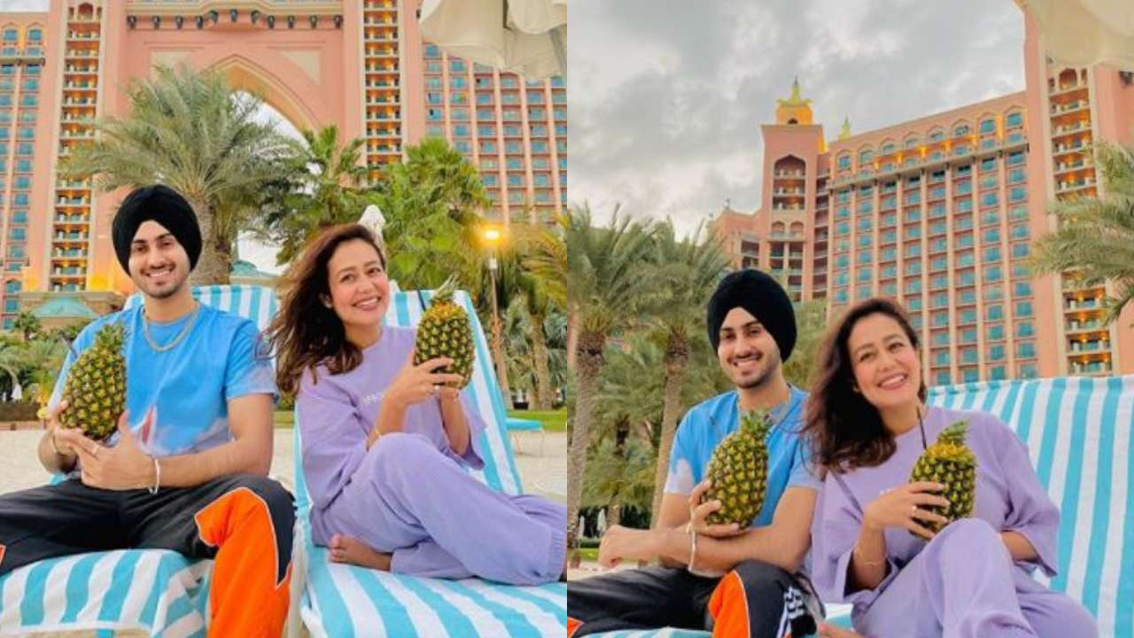 In Pic of the day: Neha Kakkar gives a glimpse of a romantic honeymoon with husband Rohanpreet Singh in Dubai