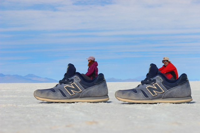 Fotos 'crazy' en el Salar de Uyuni