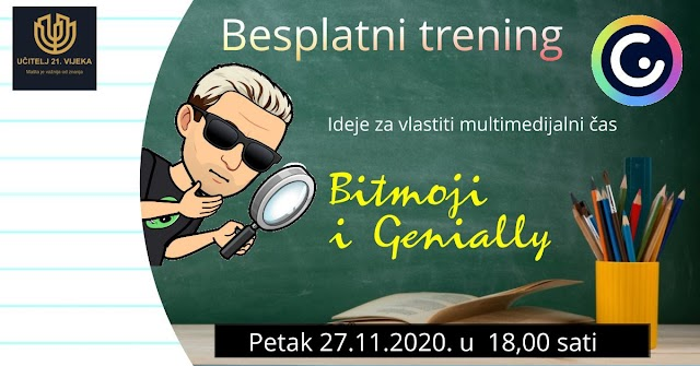 BITMOJI I GENIALLY (Besplatni Live trening)