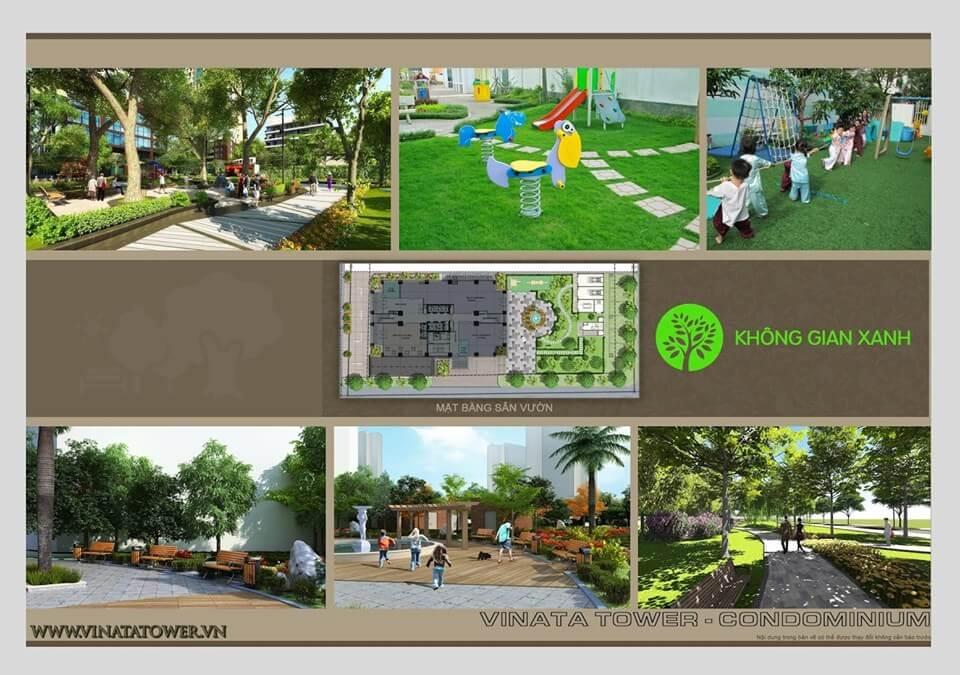 Môi trường sống xanh tại Vinata Khuất Duy Tiến