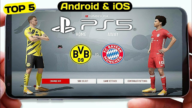 Download Top 5 Best Football Games Offline For Android & IOS 2021 High Graphics