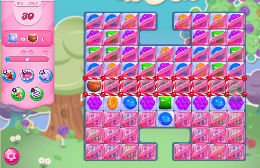 Candy Crush Saga level 6088