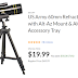 US Army 60mm Refractor Telescope, 300m f/5 Focal Length with Alt-Az Mount & Aluminum Adjustable Tripod with Accessory Tray $19.99 (Reg $69.99) + Free Shipping