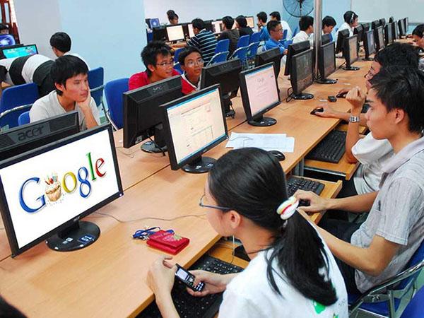 Hau het nguoi su dung internet Viet Nam deu su dung Google, Facebook